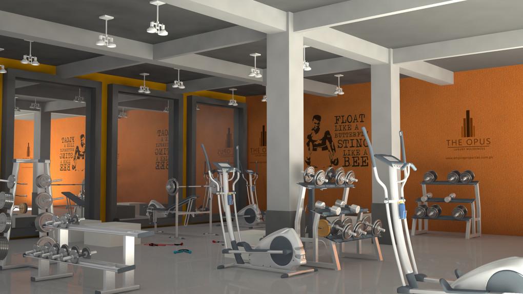 Simple Pleasures - Gymnasium