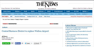 Central Business District to replace Walton Airport